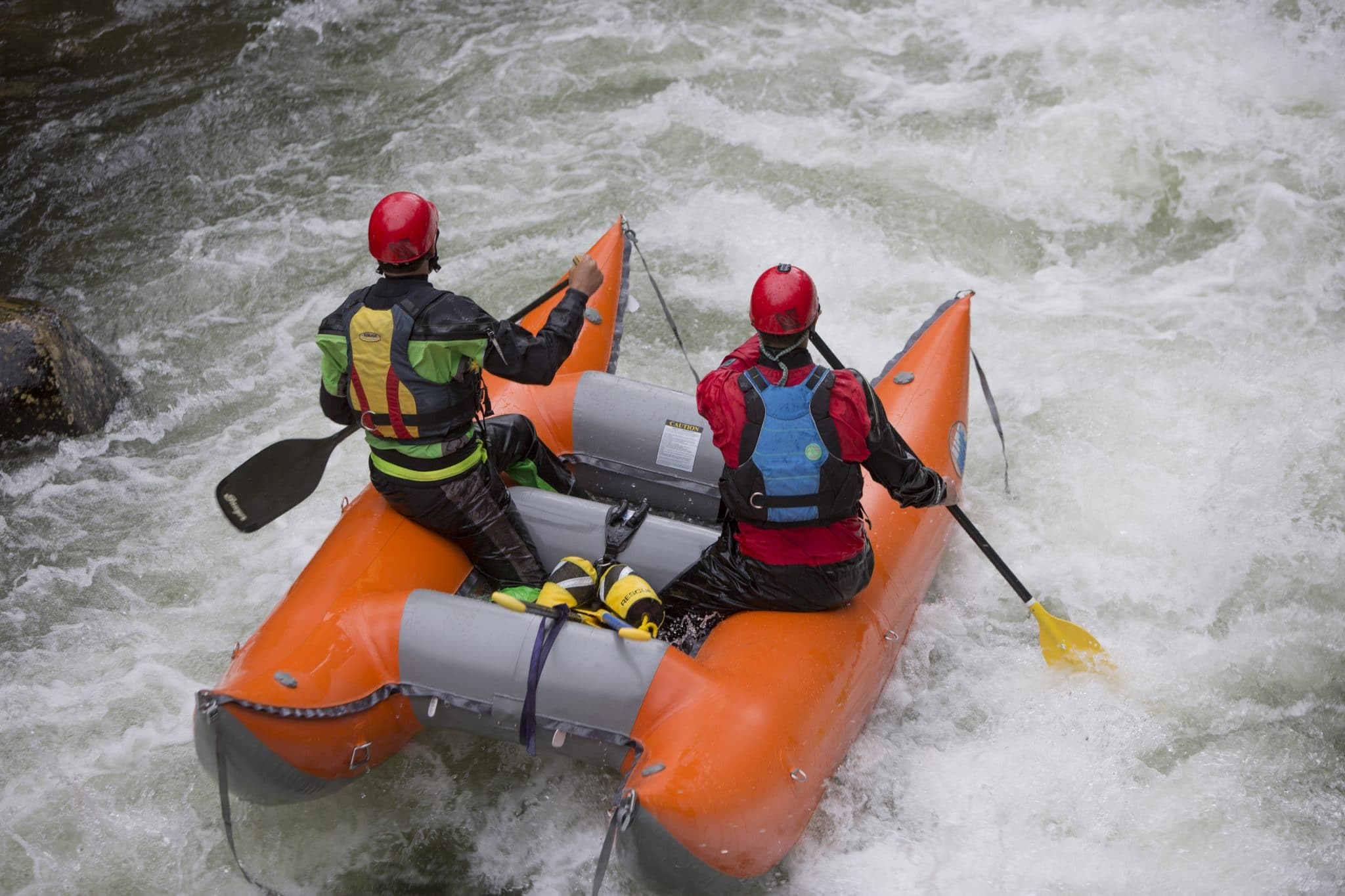 White water rafting on Fish Creek, Idaho