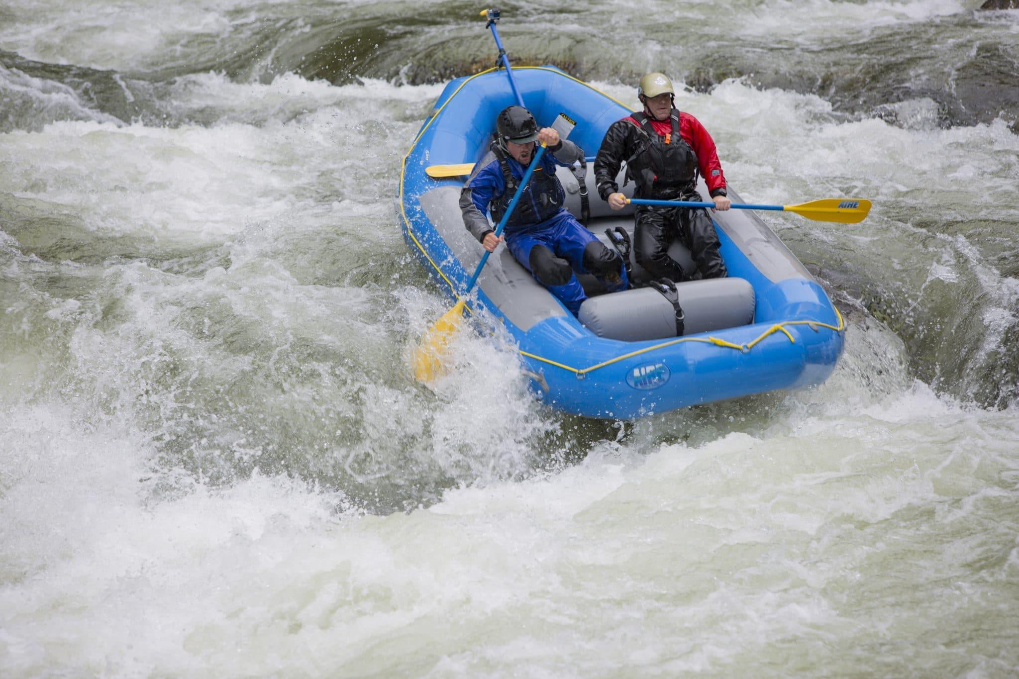 White water rafting on Fish Creek, Idaho